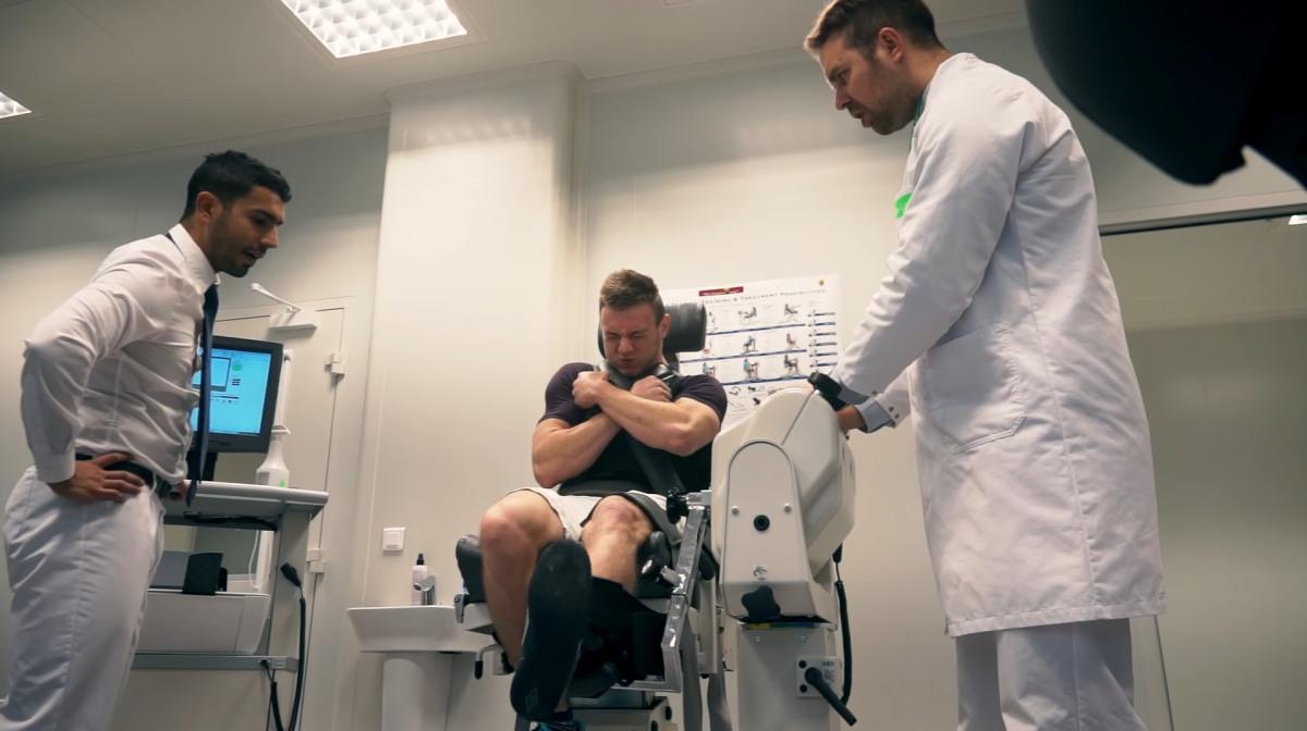 Test siły mięśni - Biodex System 4
